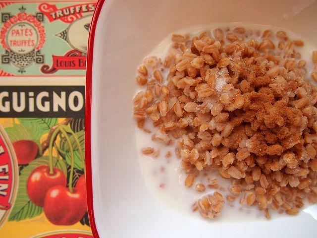 Farro Cereal