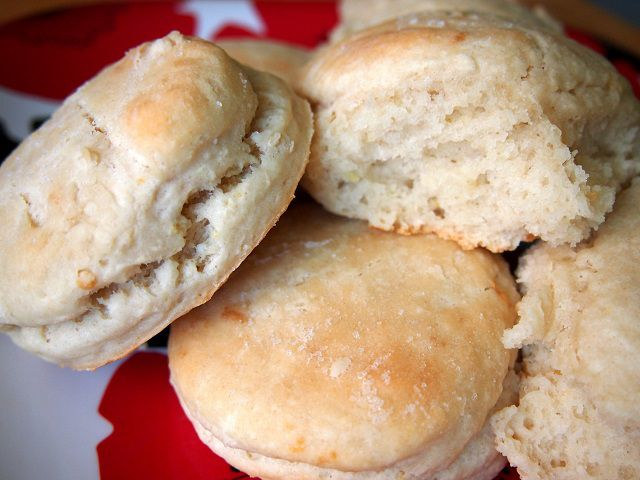Warm biscuits