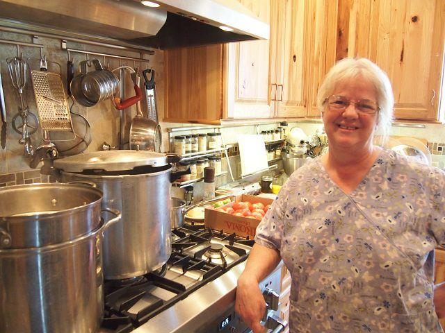 Bonnie in her Kitchen