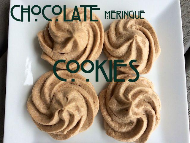 meringue cookies!!