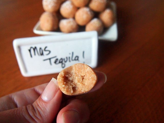 Tequila Cookie Balls