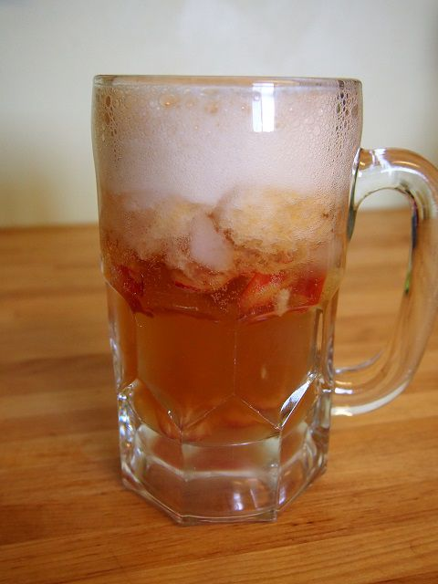 Look at those ice cold cherries floating in there!