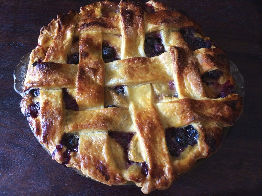 Blueberry Nectarine Pie