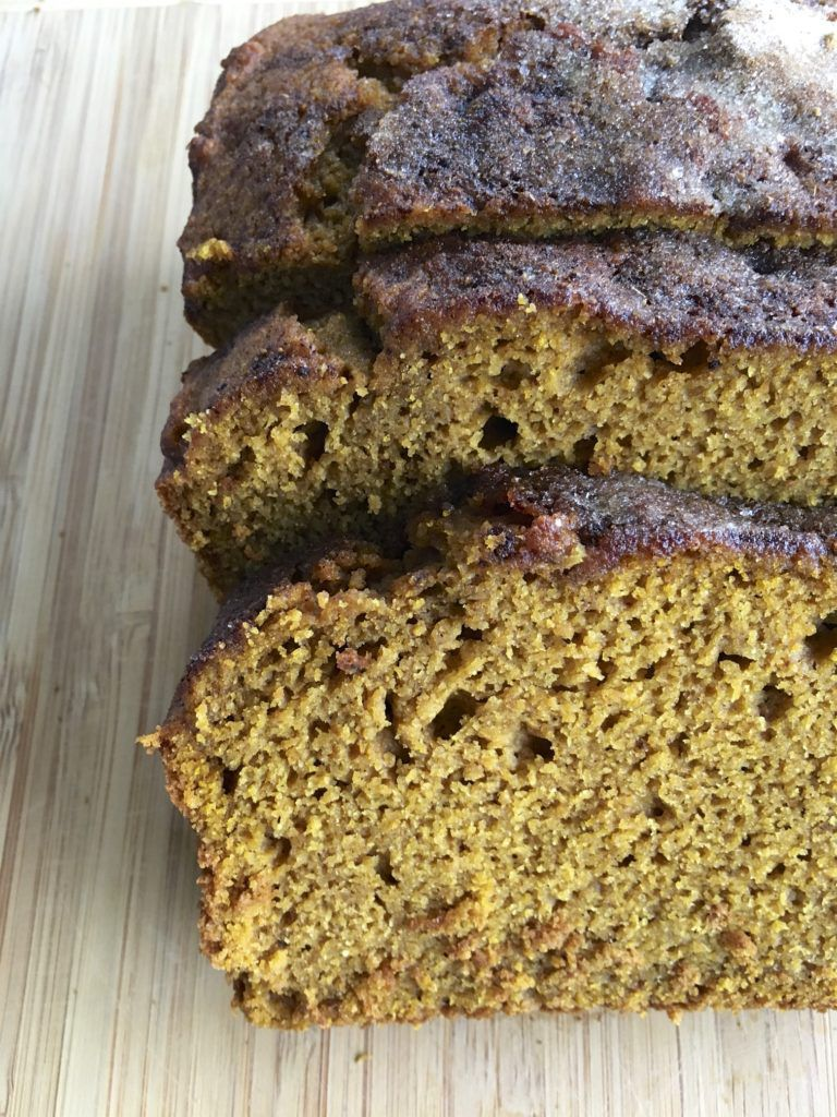 Pumpkin Chai Quick Bread