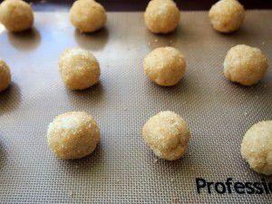 sourdough cookie balls