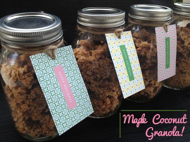 granola jars