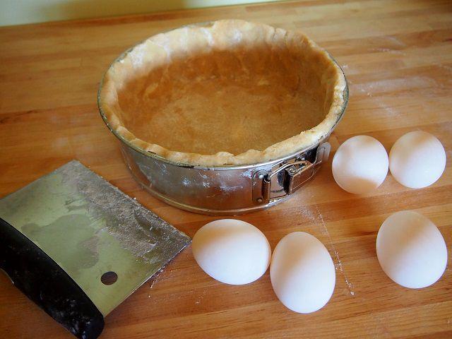 tart dough prepared