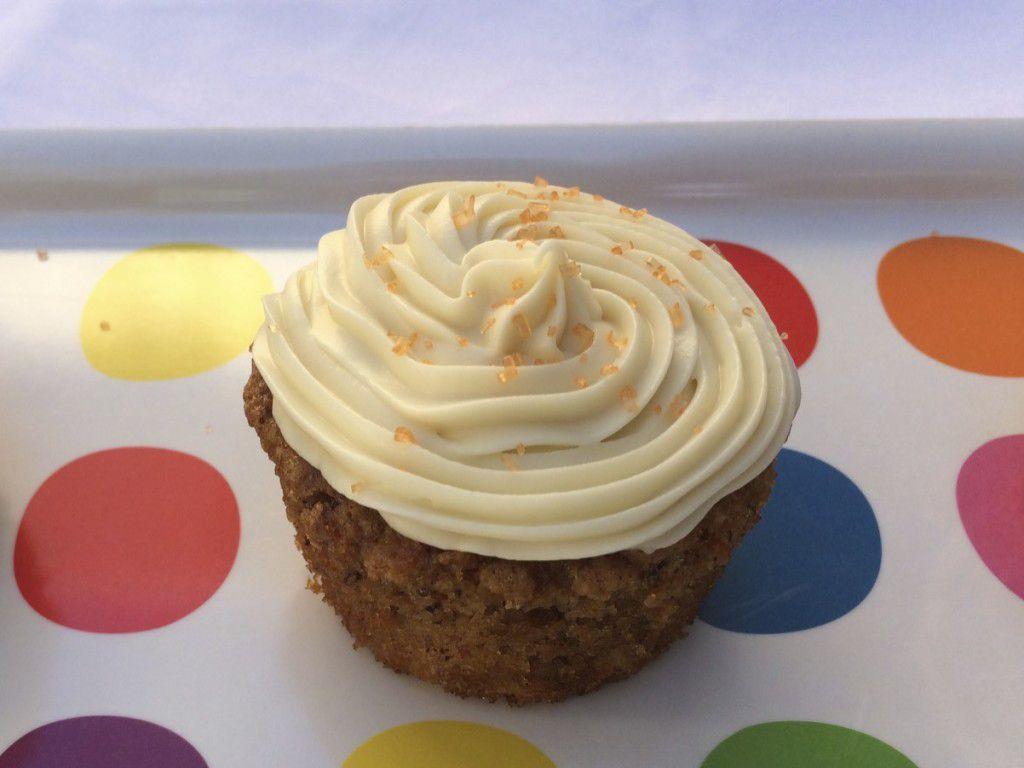 single CC cupcake