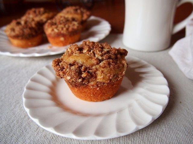 Acorn Squash Streusel Muffins