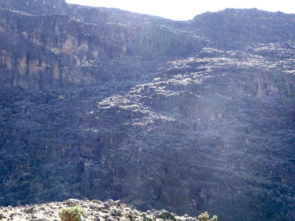 Baranco Wall, beginning day 4