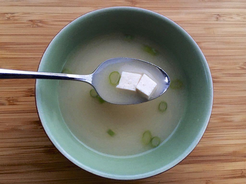 miso soupy!