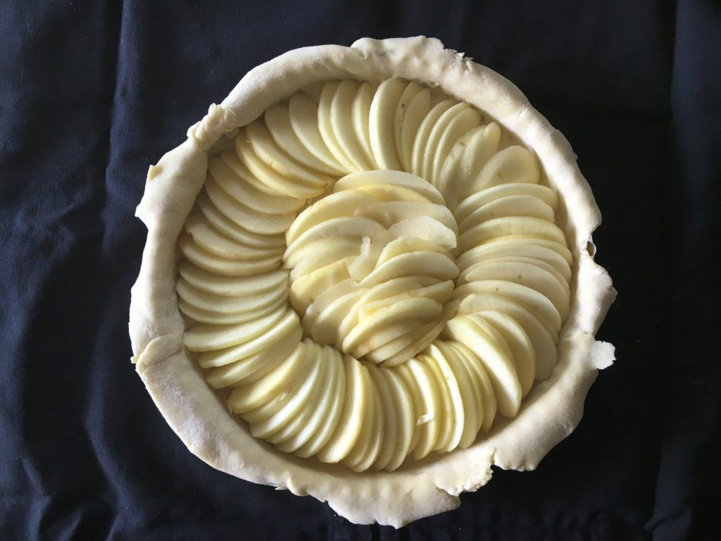 filled tart