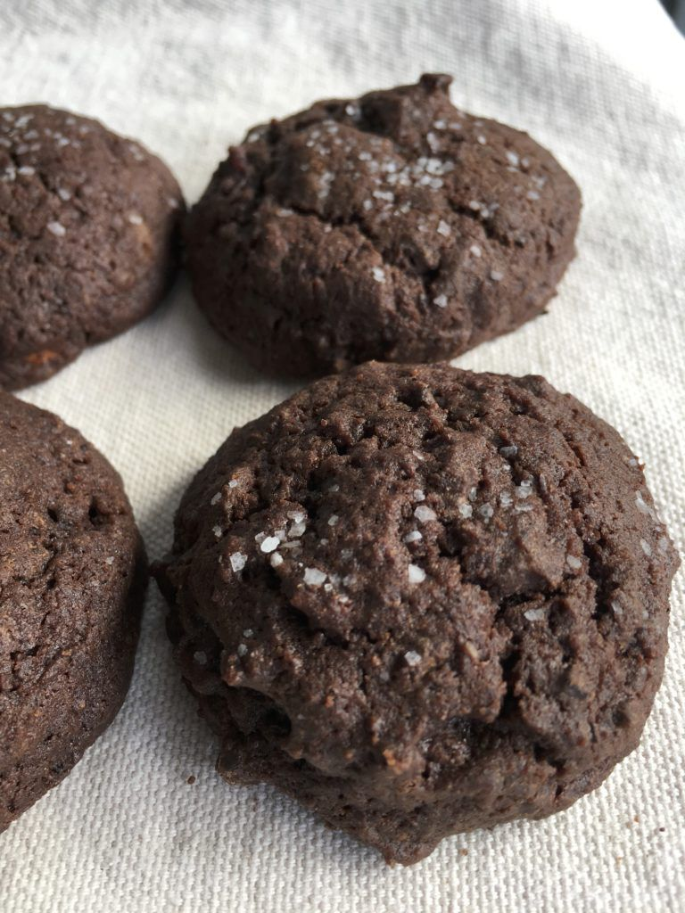 chocolate cherry espresso cookies