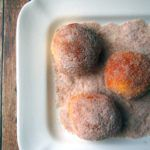 Cinnamon Sugar Air Fryer Doughnuts