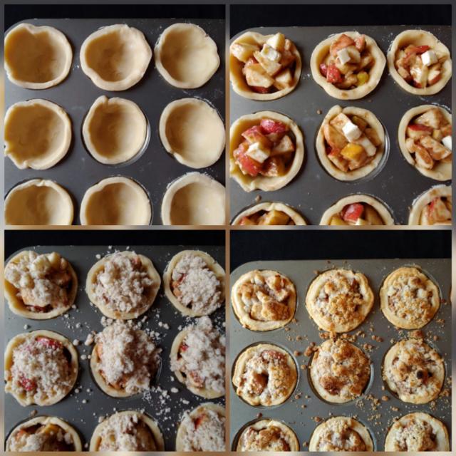 Li'l apple pies creation!