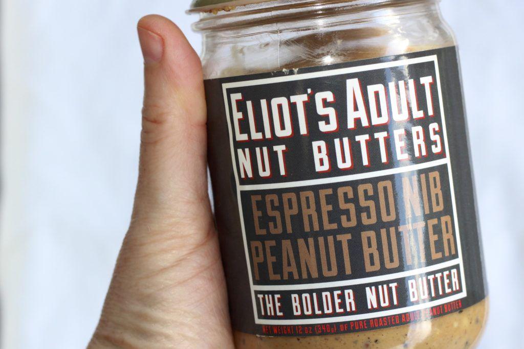 espresso cocoa nib peanut butter