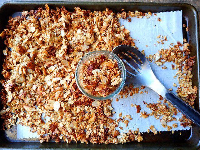 coconut honey granola