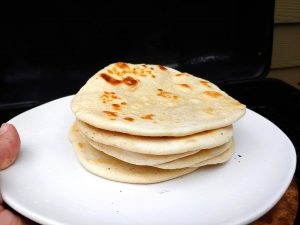 Fresh and Hot Chapati
