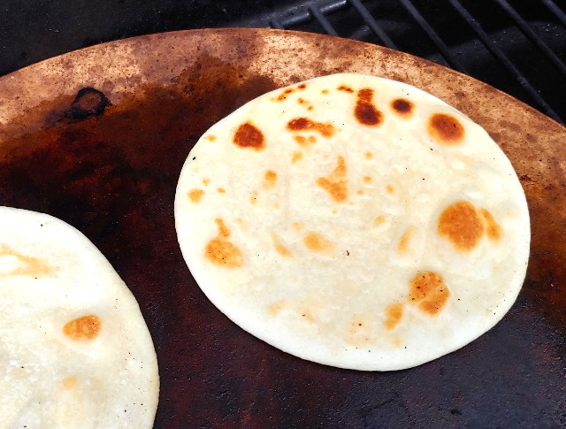 Hot Grilled Chapati