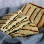 naan stuffed with kale and paneer