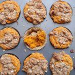 pumpkin oat streusel