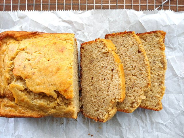 Browned Butter Bourbon Banana Bread