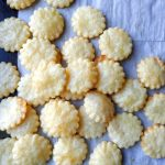 parmesan puff crackers