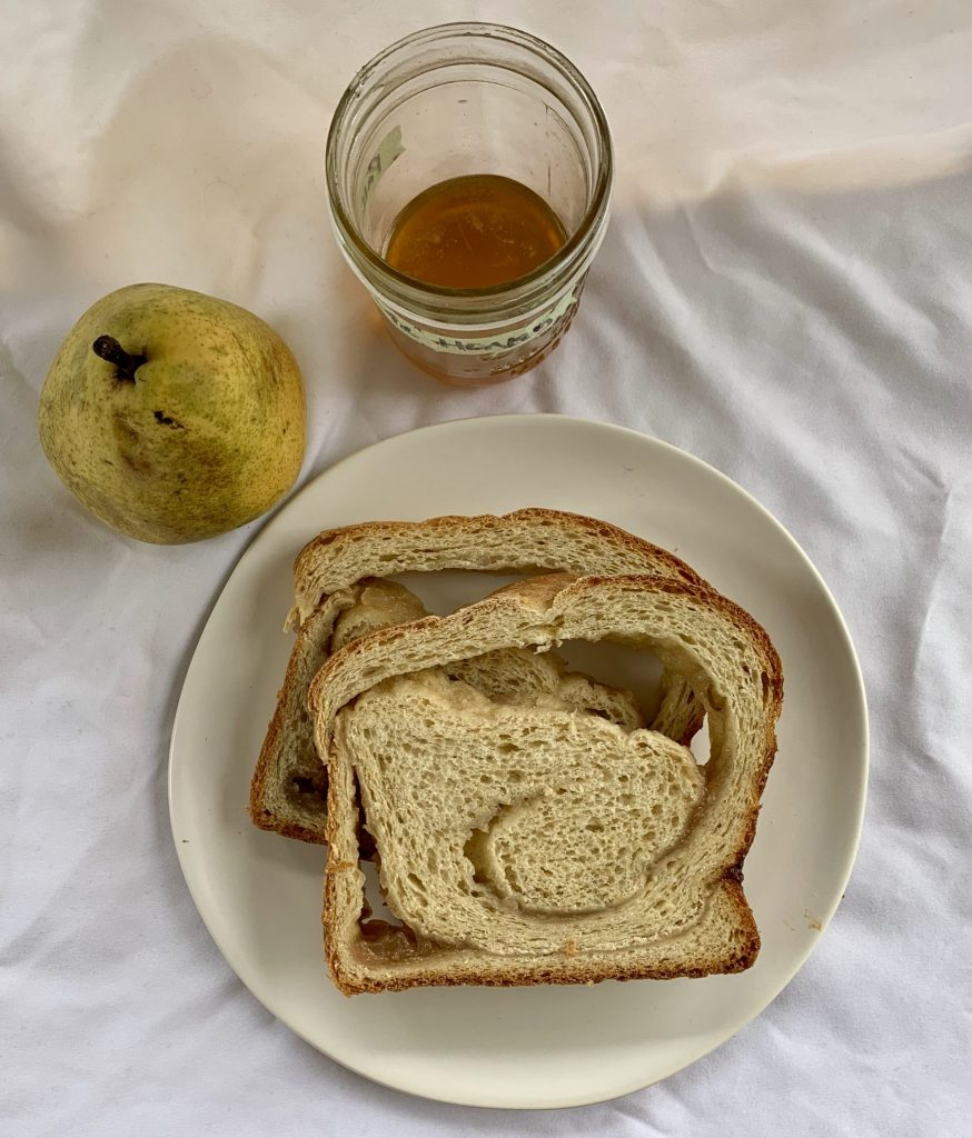 Pear Honey Swirl Bread