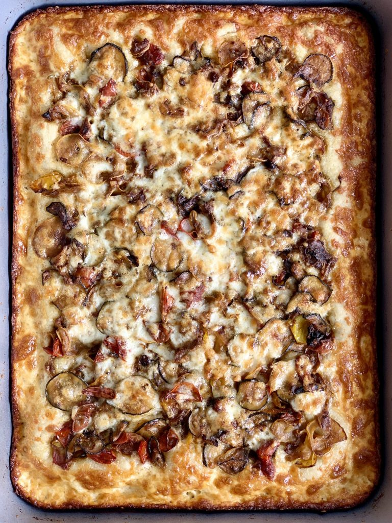 fully baked focaccia